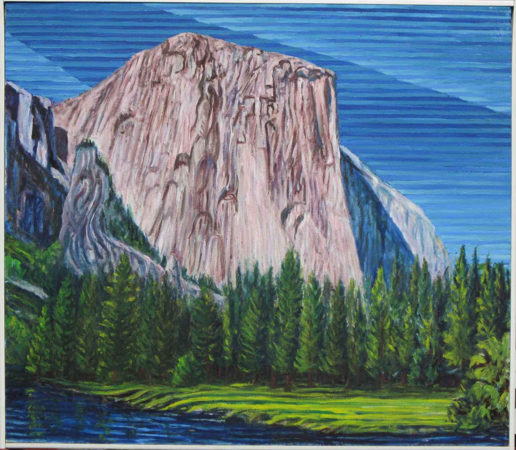El Capitan - Linear Painting - Prakash N Chandras