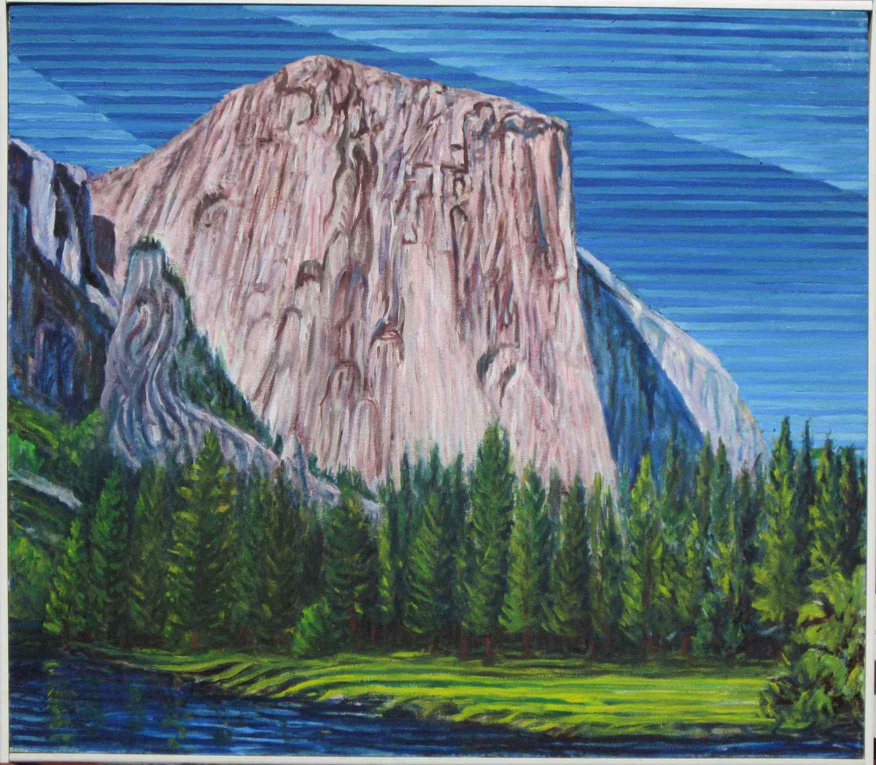 El Capitan - Linear Painting - Prakash N Chandras