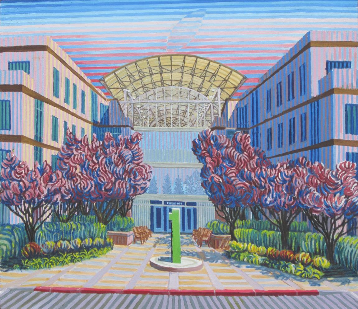 Apple Inc. - Linear Painting by Prakash Chandras